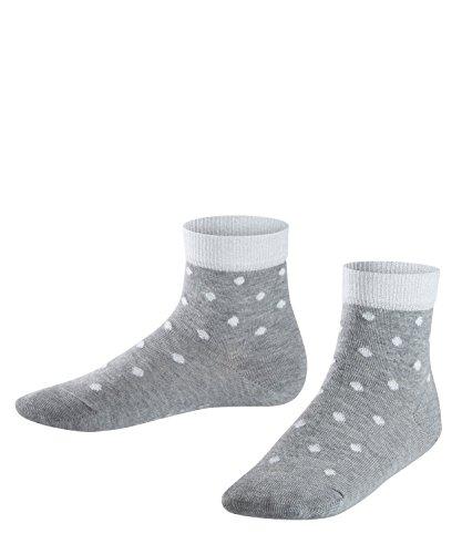 FALKE Glitter Dot K So Chaussettes, Gris (Light Grey 3400), 39-42 (13-16 Ans) Mixte Enfant