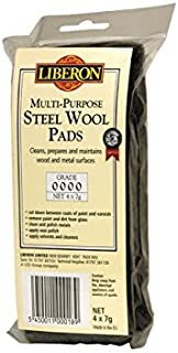 #0000 Steel Wool 4 Pads by Liberon