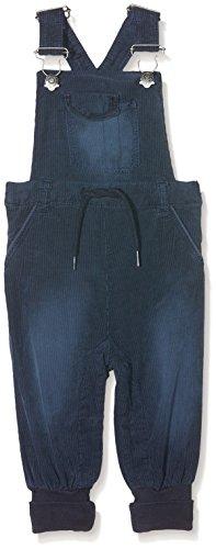 NAME IT Baby - Jungen Latzhosen NITANDRE Bag/XR Cord Overall MZNB 13137634, Gr. 62, Blau (Dress Blues)