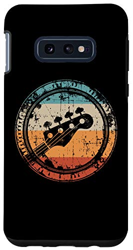 Galaxy S10e Vintage Bass Guitar Headstock for Bassist and Bass Player Case
