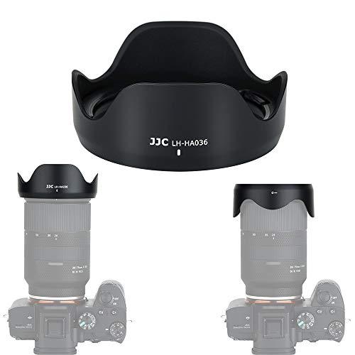 JJC Gegenlichtblende für Tamron 28-75mm f/2.8 Di III RXD (A036) Objektiv für Sony E-Mount spiegellose Kameras, ersetzt Tamron HA036