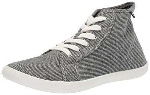 Billabong Women's Phoenix Walking Shoe, Black/White, 9 M US