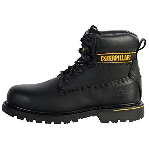 Cat Footwear Holton S3 HRO SRC, Botas de Trabajo Hombre, Negro Black, 40 EU