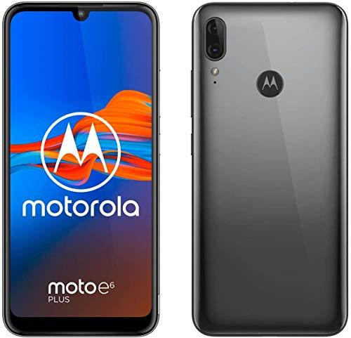 Motorola Moto E6 Plus 64GB Handy, Graphite, Android 9.0 (Pie)