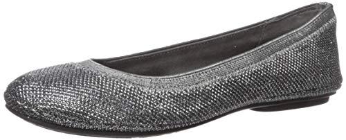 Bandolino Footwear Women's Edition Ballet Flat, Gunmetal, 9