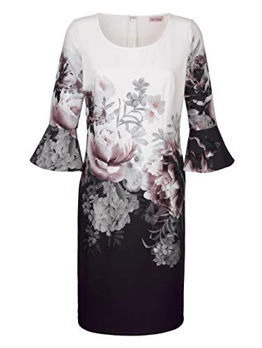 Alba Moda Kleid mit Volantärmeln Weiß