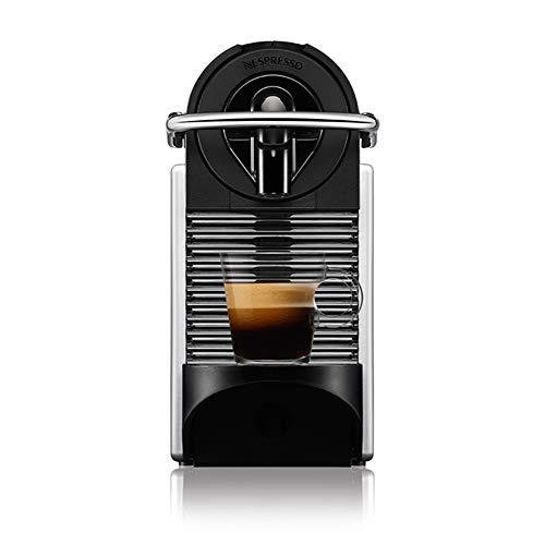 Nespresso Pixie Alumínio Cafeteira 220V, Máquina de café Espresso compacta para casa, cápsula / cápsula elétrica automática (prata)