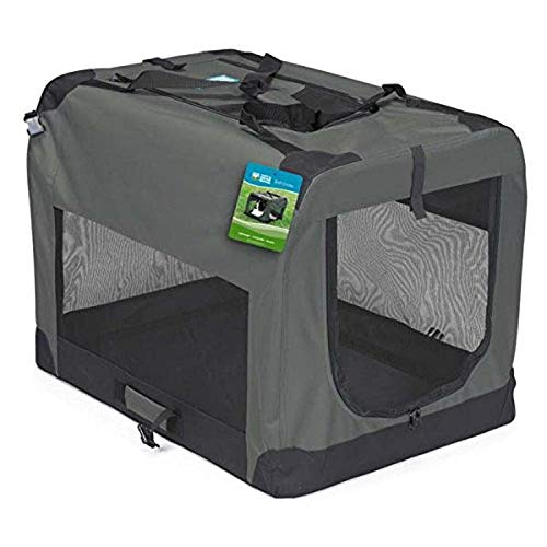 Guardian Gear Nylon and Steel Soft-Sided Collapsible Dog Crate AmazonPets Basic Crates Dog from Kennels products Selection Selections Supplies Top