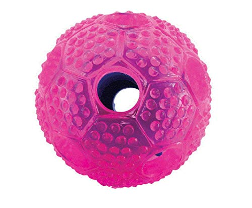 Interactive Dog Ball by FurryFido, Dog toys ball and treat dispensing for dogs,cat and small animals. Funny Dog Puzzle and Dog Toys for Boredom and Thinking (Ball)1 pack
