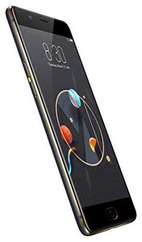 Nubia nx551j M2Smartphone (64GB Memoria, 4GB RAM, Fotocamera 13MP, Android 6.0, 13,9cm (5,5pollici) Nero/Oro