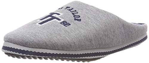 Tom Tailor 5881701, Chaussons Mules Homme, Gris (Grey 00011), 42 EU