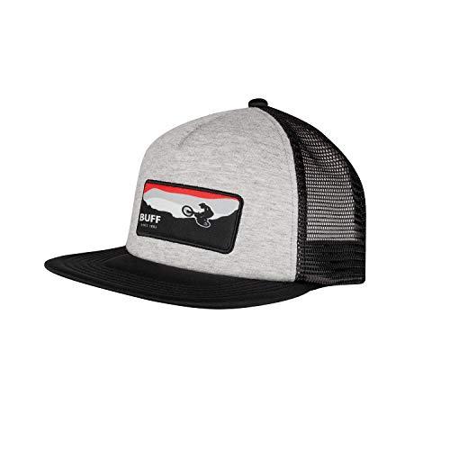 Buff Unisex-Kinder Trucker Cap, Grey, One Size