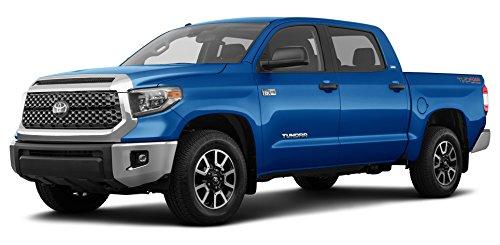 2018 Toyota Tundra SR5, CrewMax 5.5' Bed 5.7L FFV (GS), Blazing Blue Pearl