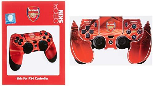 Arsenal FC Official Football Crest Controller Sticker Skin PS4