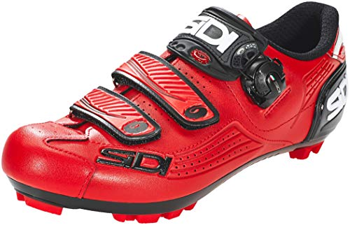 Sidi MTB Trace 2019 - Zapatillas de Ciclismo, Color Rojo, Total Red, 43 EU