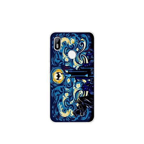 para BQ Aquaris C U2 U X5 V VS X2 X Lite Pro Plus E5 s E4.5 M5 M5.5 M4.5 Contraportada Transparente TPU Fundas para teléfono Pintura-WM06019-For Aquaris VS