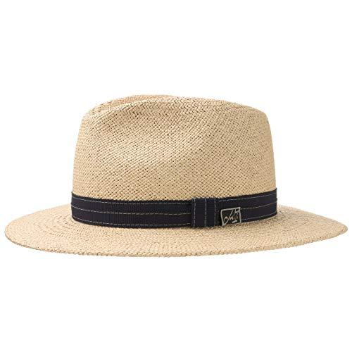 Chapeau Andrew Blue Panama Michael Zechbauer Paille de pour Homme (56 cm - Nature)