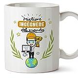 MUGFFINS Tazza Ingegnere (Migliore del Mondo) - Idee Regali Originali Ingegneria