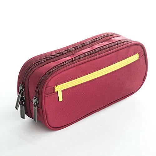 LLLKKK Federmäppchen, Stiftetasche, großes Fassungsvermögen, multifunktionale Federmäppchen, dreistöckige Stifttasche, Schreibwarenbox, Geschenkbox a