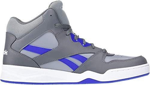 Reebok Men's Royal BB4500 HI2 Basketball Shoe, Cold Grey/Cobalt/White, 6.5 M US