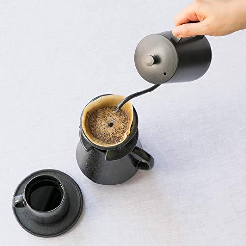 KEYUCA(ケユカ)DENKドリップポット(600ml/軽量ステンレス製)細口ボトル珈琲ドリップケトルコーヒーケトル