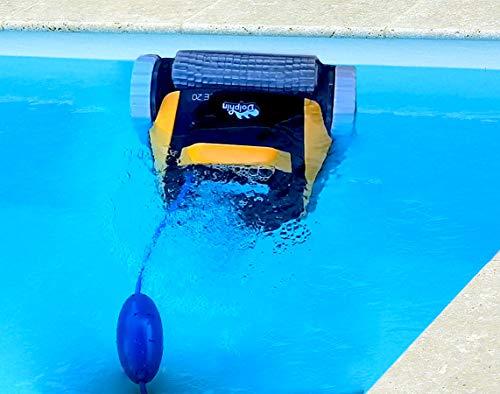 Dolphin E20 - Elektrischer Reinigungsroboter, Poolroboter mit PVC Bürste, Pool Roboter für alle Poolformen - 6