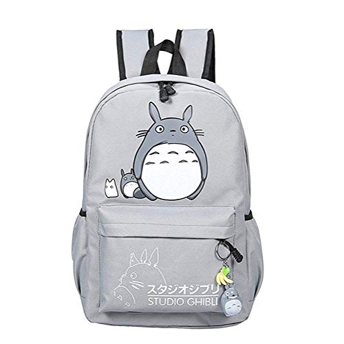 Teenager Cartoon My Neighbor Totoro Backpack Anime Canvas Casual Daypack Rucksack