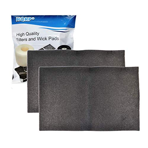 HQRP 2-pack Cut-to-fit Foam Filter for Air Conditioning Unit/Furnace Unit, 24' x 15' x 1/4'