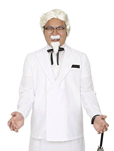 白ヒゲおじさん コスチューム メンズ