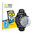 BROTECT 2X Entspiegelungs-Schutzfolie kompatibel mit Mobvoi TicWatch Pro 3 Cellular LTE Bildschirmschutz-Folie Matt, Anti-Reflex, Anti-Fingerprint