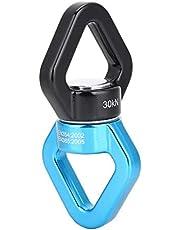Escala giratoria Aleación de Aluminio Triangular Rotacional Dispositivo Spinner 30KN Cuerda de 360 Grados Conector Giratorio para Hamaca Escalada en Roca Swing Yoga Ingeniería