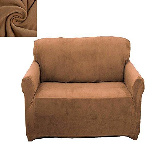 1 Sizter Sofabezug Sesselbezug Sofahussen Sofaabdeckung Elastisch Verfügbar Beige