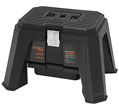 ツールボックス付き ステップ スツール TB-STP01