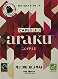 Araku Café Bio Micro Climat Étui 15 Capsules Compatibles Nespresso 90 G - Lot De 2