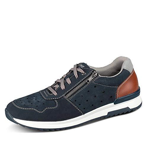 Rieker Herren 16105 Sneaker, Blau, 42 EU