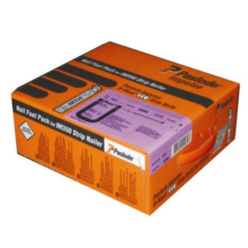 Paslode Impulse-Pack IM350+ gerillt, GalvPlus (Ü2) 2,8mm x 75mm, 2200 St.