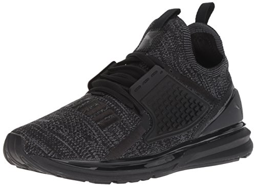 PUMA Men's Ignite Limitless 2 Evoknit Sneaker, Black-Iron gate, 9 M US