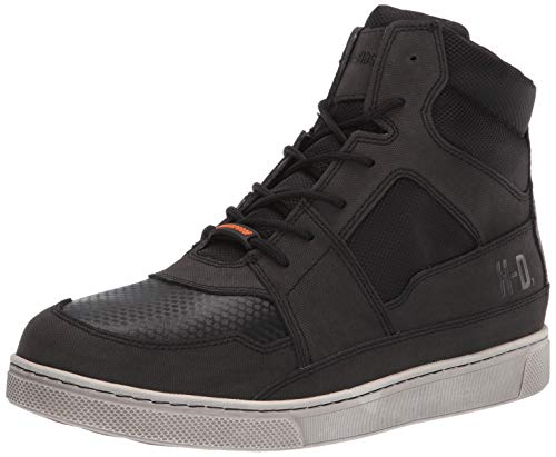 HARLEY-DAVIDSON FOOTWEAR Men's Eagleson Sneaker, Black, 08.5 M US