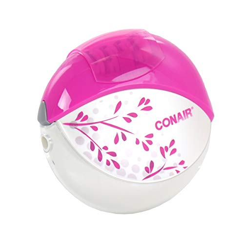 Conair Total Body Easy to Use Epilator with Sensitive Area Attachment, Cord/Cordless/Rechargeable, PINK