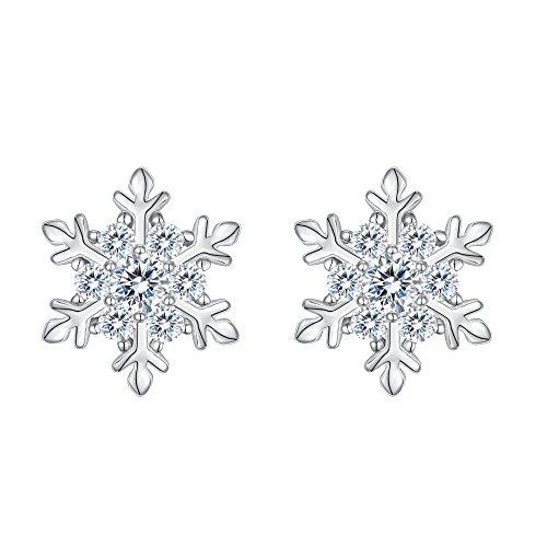orecchini fiocco di neve pandora