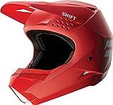 Shift WHIT3 Casco di motocross Rot
