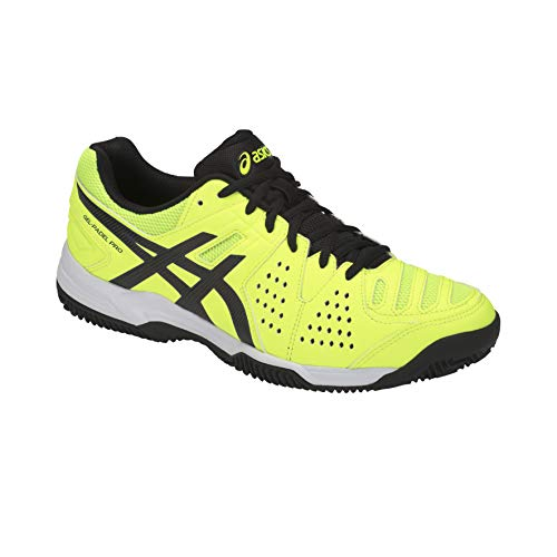 Asics Padel Pro 3 SG Flash Yellow/Black (41.5 EU): Amazon.es ...