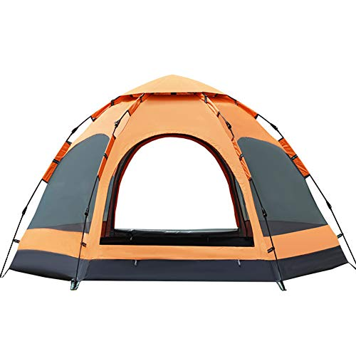 Large Space Tent voor 5-8 Mensen Portable Automatic Tent Family Holiday Outdoor Camping Vissen winddicht Sunscreen Regendicht