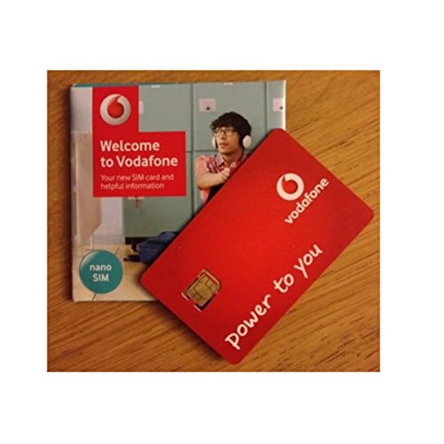 Vodafone Superfast 3G/4G 'Nano' SIM Card Pay As You Go For iPhone 5, 5C, 5S, 6, 6S, 6+, iPad 3, 4, 5, Air/Air 2 / Galaxy S3, S4, S5, S6 S6-Edge, Galaxy Tab/Notes 2, 3, 4, 5, HTC, Sony, Blackberry & All Mobile Device - UNLIMITED CALLS, TEXTS & DATA - MOBILES DIRECTS COMMUNICATIONS LTD
