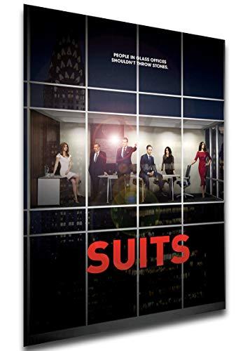 Instabuy Poster - SA0125 - Playbill - TV Series - Suits Manifesto 70x50
