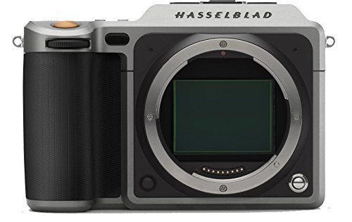Hasselblad X1D - Cámara Digital sin Espejo (CMOS 50 megapíxeles, Ranuras Dobles para Tarjetas SD, obturación de 60 Minutos a 1/2000 de Segundo)