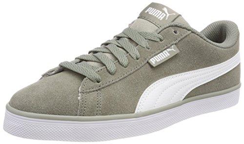Puma Unisex-Erwachsene Urban Plus SD Sneaker, Beige (Rock Ridge-puma White 02), 43 EU (9 UK)