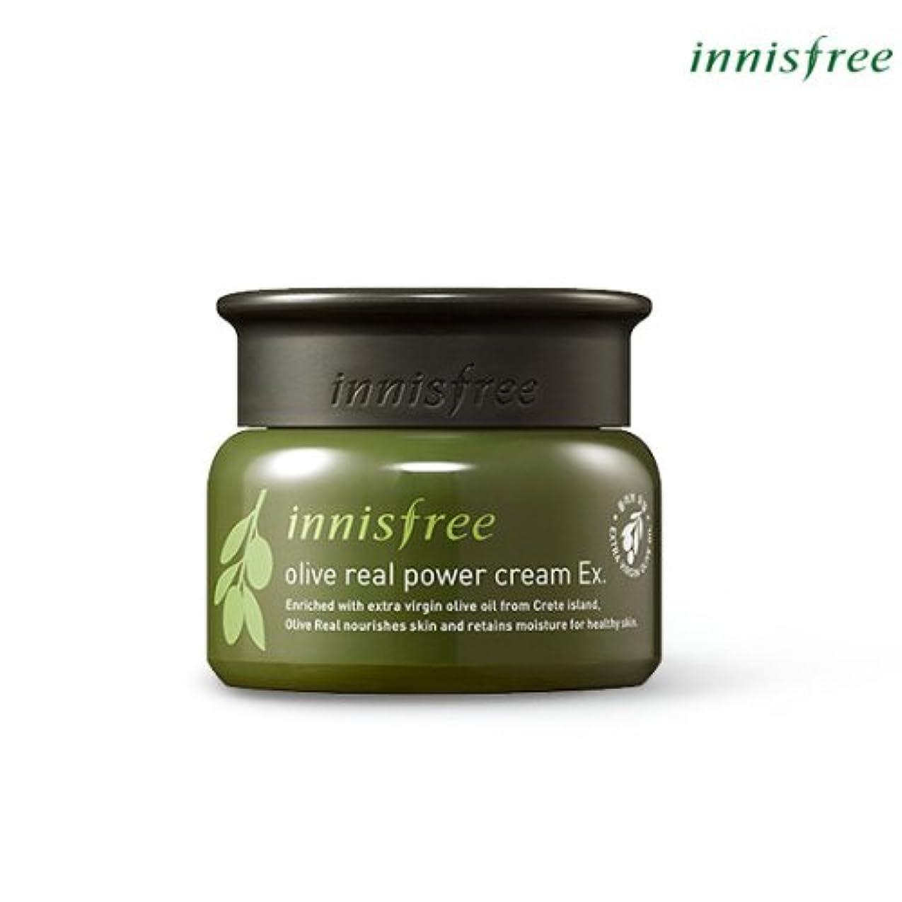 画面リング香り[INNISFREE]イニスフリーオリーブリアルパワークリームEx.50ml olive real power cream Ex.50ml [並行輸入品]