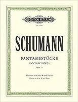 シューマン: 幻想小曲集 Op.73 (A管用/B-flat管用)/ペータース社/クラリネットとピアノ