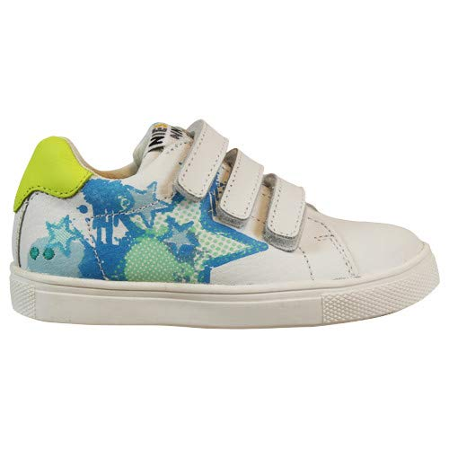 BunniesJR Laurens Louw - Kinderschoenen Jongens Maat 23 - Wit - Sneakers